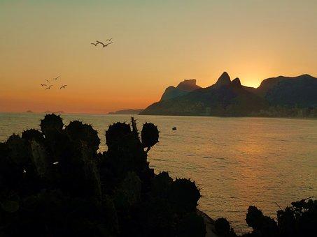 Mar, Ocean, Beach, Orla, Litoral, Rio De Janeiro