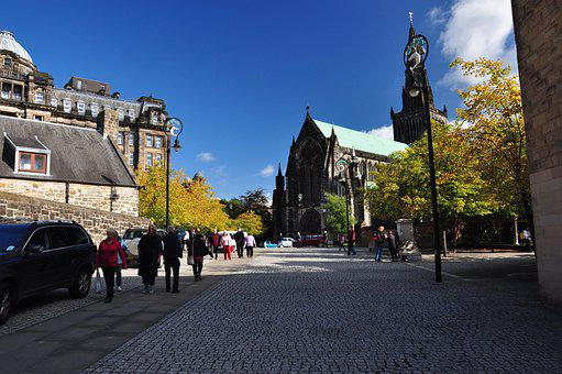 Scotland, Glasgow, The Cathedral, Church, Monument