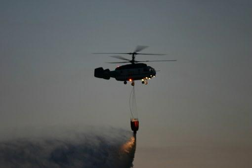 Helicopter, Download Water, Night, Kamov