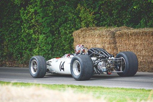 Auto Racing, Fast, Formula 1, Haystack, Person, Race