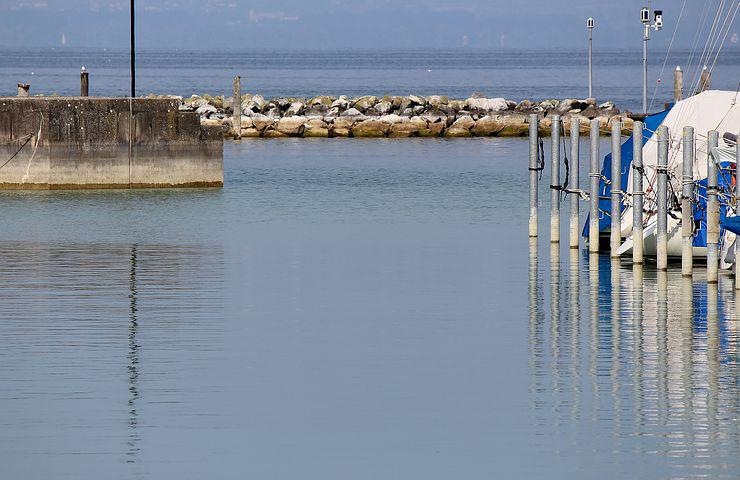 Port, Boat Harbour, Port Exit, Harbour Wall, Stone Wall