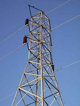 Tower, Electricity, Power, Energy, Sky, Electric