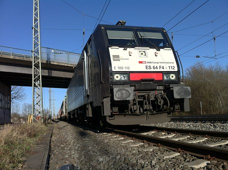Railway, Locomotive, Three-phase Locomotive, Sbb, Rail