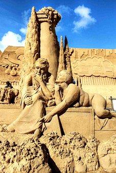 Sand, Sand Sculptures, Sandworld, Sand Sculpture