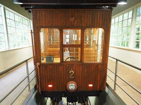 Funicular Railway, Dare, Seilbahn Dare, Wagon