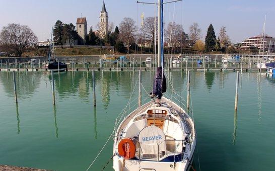 Ship, Sailing Vessel, Port, Boat Harbour