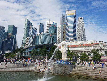 Merlion, Singapore, Singapore Merlion, City, Park