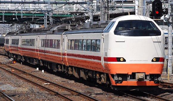 Nikko Omiya, Japan, Train, Approaching, Station