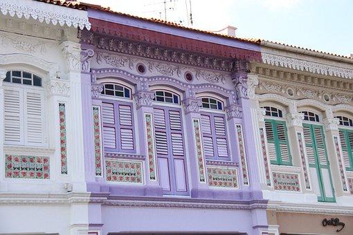 Singapore, Architecture, Terrace Homes