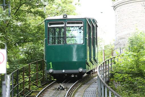 Funicular Railway, Track Traffic, Single Track, Traffic