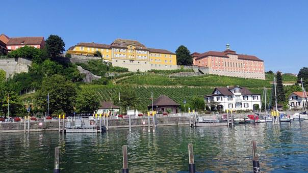 Meersburg, Lake Constance, Tourism, Vacations, Quiet