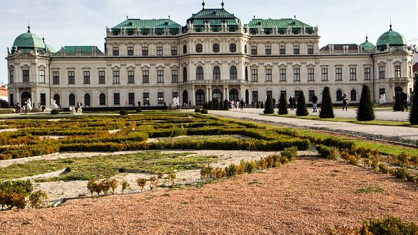 Vienna, Castle, Belvedere, Places Of Interest, Baroque