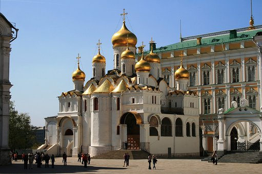 Church Square, White Walls, Golden Domes, Towers