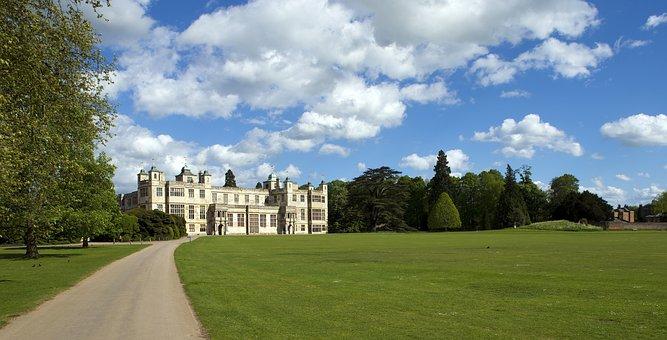 Audley End, Essex, Uk, Large Elizabethan Stately Home