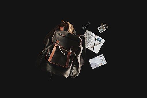Backpack, Book, Travel Bag, Content, Travel, Journey