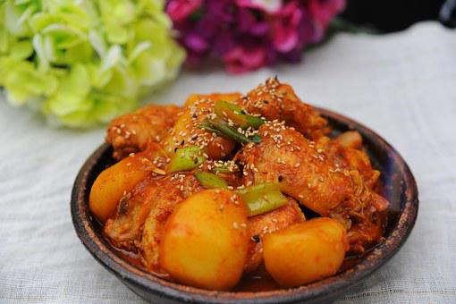 Chicken Bokeumtang, Side Dish, Chicken Dishes, Spicy