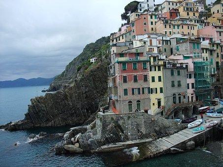 Cinque Terre, Village On The Rocky Coast