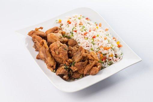 Yakimeshi, Nuggets, Combined, Chicken