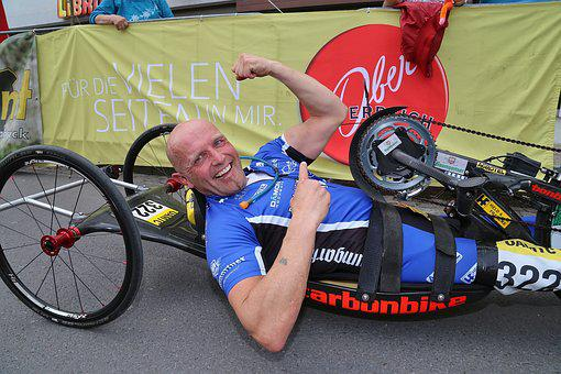 Hand Bike, Disabled Sports, Cycling, Sport, Race