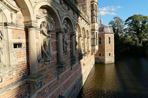 Frederiksborg Castle, Hillerød, Castle Chapel, Denmark