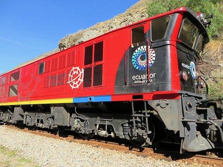 Ecuador, Andean Train, Alausi, Devil's Nose, Shunter