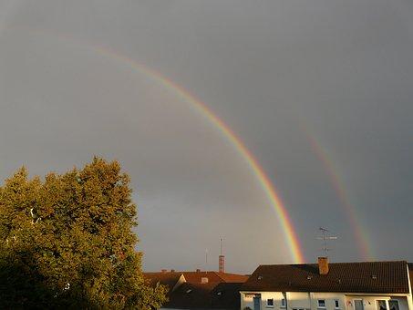 Rainbow, Half, Transient, Stop, Ends, Fade