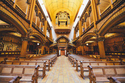 Architecture, Chairs, Church, Gothic, Historic