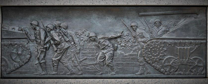 Washington, War, Historical Epic, Sculpture, Tribute