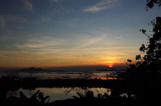 Sunset, Hong, Kong, Hapaklai