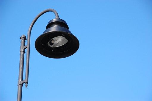 Blue, Cloudy, Lantern, Light, Lighting