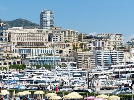 Monaco, Skyscrapers, Building, Control, City, Houses
