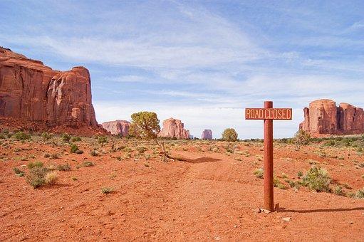 America, Desert, Heat, Prairie, Road, Monument Valley