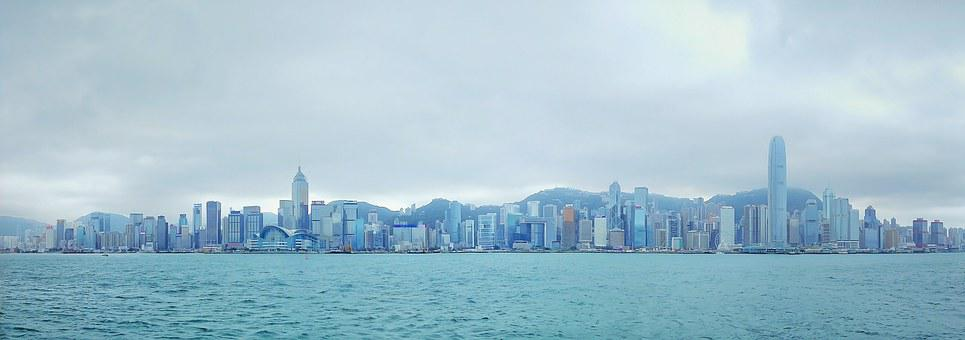 Hong Kong, Panorama, Victoria Harbour