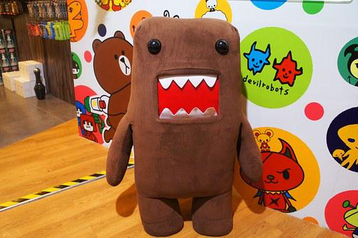 Domokun, Toy, Big, Asia, Popular