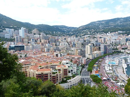 City, Skyscrapers, Monaco, City View