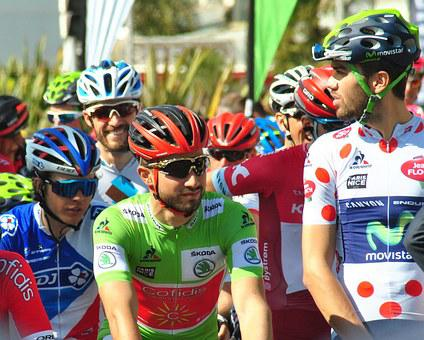 Cycling Races, Before The Start, Sprinter Jersey