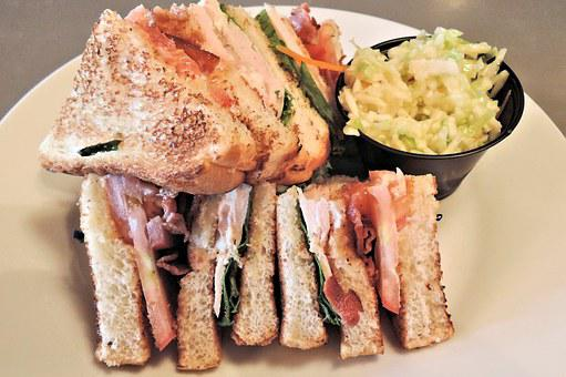 Clubhouse Sandwich, Food, Chicken, Bacon, Tomato