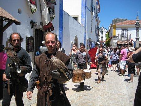 óbidos, Medieval Fair, Popular, Street