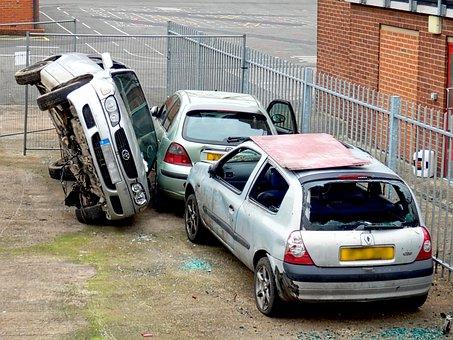 Car, Wreck, Accident, Crash, Insurance, Car Wreck