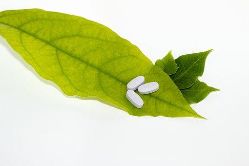 Leaf, Pills, Green, Medicine, Herbal, Alternative
