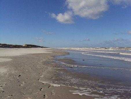 Ameland, North Sea, Beach