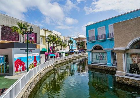La Isla, Shopping, Cancun, Mexico, Architecture