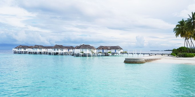 Maldives, Honeymoon, Sea, Beach, Sky, Centara Grand