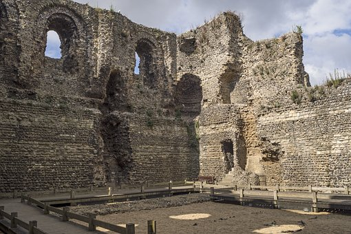 Canterbury Castle, Castle, Burgruine, Donjon, Norman