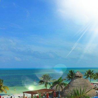 Caribbean, Cancun, Vacation, Mexico, Beach, Travel