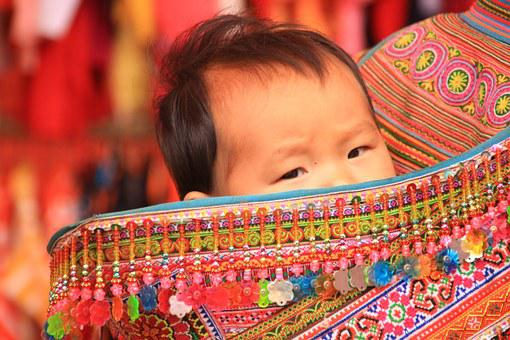 Eyes, Carry Bag, Moment, Folklore, Child, Colorful, See