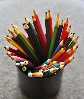Pencils, Colored Pencils, Color Pencils, Education