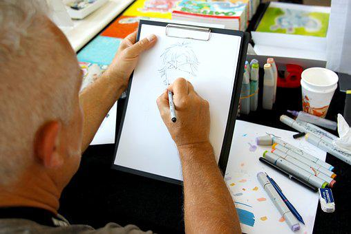 Anime, Manga, Comic, Kenkaneki, Cartoonist, Cartoon