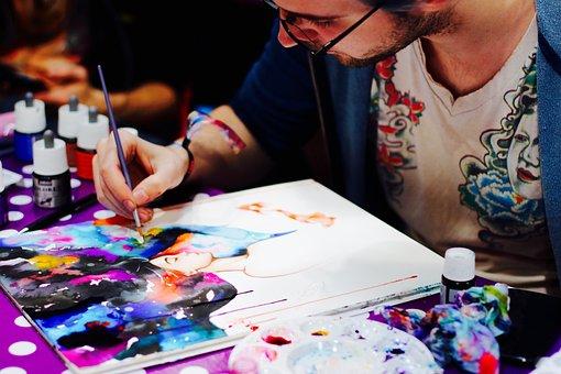Comiccon, Dortmund, Fair, Comic, Artist, Event, Drawing