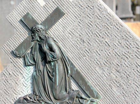 Jesus, Christ, Cross, Cross Carry, Crown Of Thorns